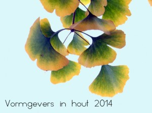 Expo at 'Vormgevers in hout', 18,19 oct. 2014