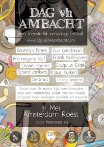 Expo at 'Dag van het Ambacht, 2014, Amsterdam'